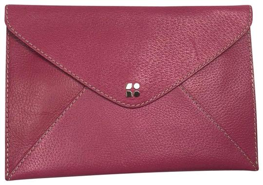Preload https://img-static.tradesy.com/item/23732972/kate-spade-envelope-pink-leather-clutch-0-2-540-540.jpg