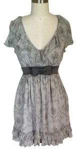 Steve Madden short dress Gray Multi on Tradesy