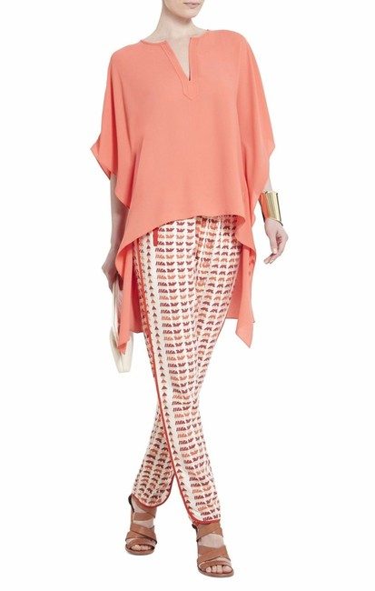 Item - Pink/Coral L Neda High-low M/L Tunic Size 10 (M)
