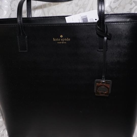 Kate Spade Beech New With Tag Karla Beech Tote in black Image 1