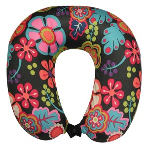 Lily Bloom Lily Bloom Wildwood Memory Foam Neck Pillow - Eggplant