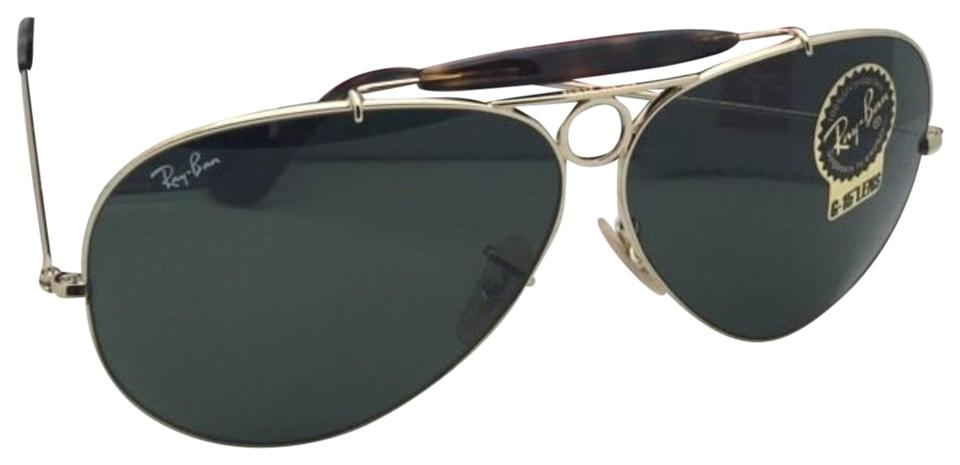 953a027f76 Ray-Ban Rb 3138 Shooter 181 62-09 Gold   Havana Frame W G15 Green W ...