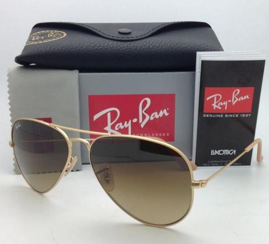 d3a1165d94 Ray-Ban Rb 3025 Large Metal 112/85 55-14 Matte Gold W/ Brown ...