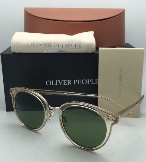 Oliver Peoples OLIVER PEOPLES Sunglasses SPELMAN OV 5323S 109452 Buff Frame w/ Green Image 10