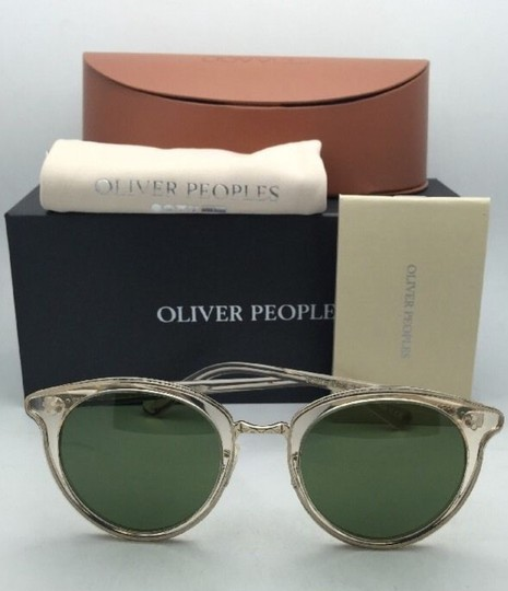 Oliver Peoples OLIVER PEOPLES Sunglasses SPELMAN OV 5323S 109452 Buff Frame w/ Green Image 11