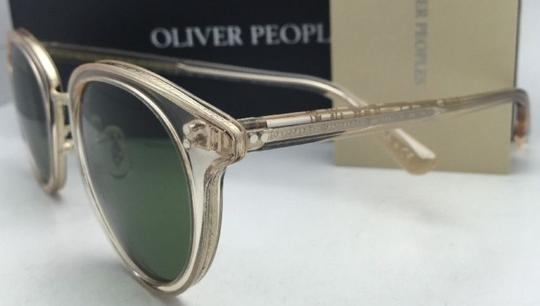 Oliver Peoples OLIVER PEOPLES Sunglasses SPELMAN OV 5323S 109452 Buff Frame w/ Green Image 2