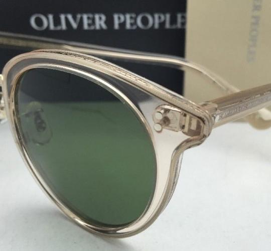 Oliver Peoples OLIVER PEOPLES Sunglasses SPELMAN OV 5323S 109452 Buff Frame w/ Green Image 4