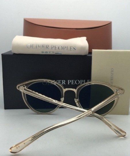 Oliver Peoples OLIVER PEOPLES Sunglasses SPELMAN OV 5323S 109452 Buff Frame w/ Green Image 9