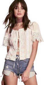 For Love & Lemons Top dusty pink