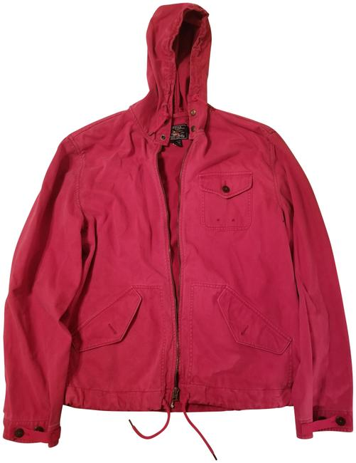 Item - Red Cotton Jacket Size 8 (M)