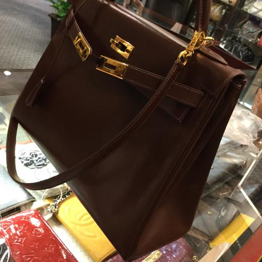 Hermès Satchel in Brown Image 2