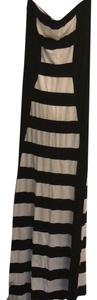 black and white Maxi Dress by bebe