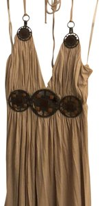 beige Maxi Dress by Sky