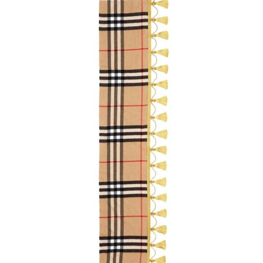 Burberry giant Check tassels scarf Image 1