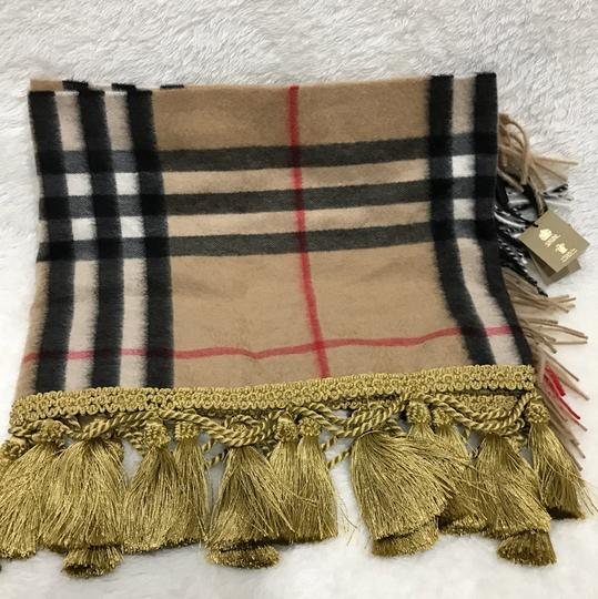 Burberry giant Check tassels scarf Image 2