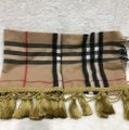 Burberry giant Check tassels scarf Image 3