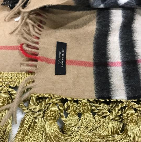 Burberry giant Check tassels scarf Image 4