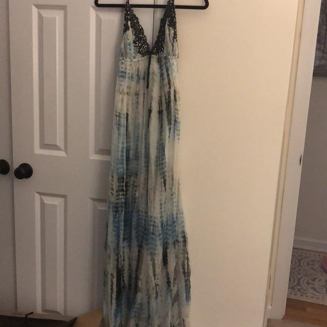 blue Maxi Dress by Valerie Image 1
