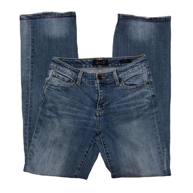 Preload https://img-static.tradesy.com/item/23733912/seven7-medium-rinse-blue-denim-wash-flare-leg-jeans-size-4-s-27-0-0-650-650.jpg