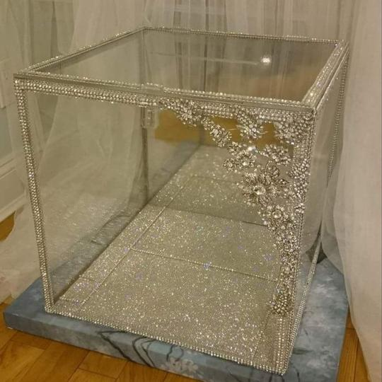 Swarovski Lucite Envelope Holder / Bouquet Display / Piece Other Image 2