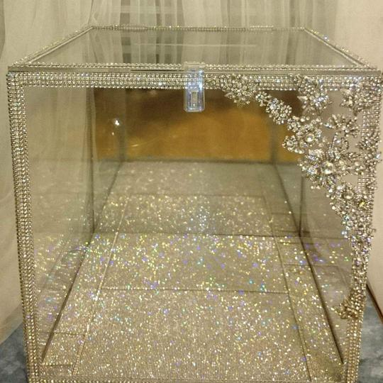 Swarovski Lucite Envelope Holder / Bouquet Display / Piece Other Image 3