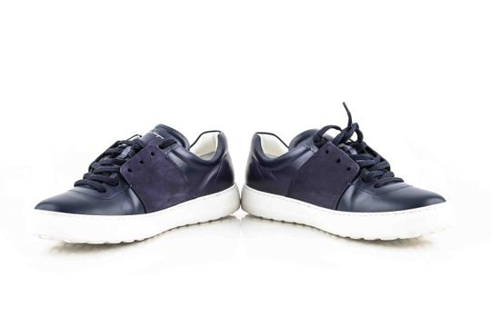 Salvatore Ferragamo Blue Gancio Sneakers Shoes Image 6