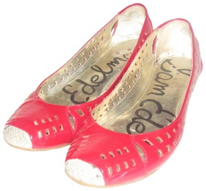 71fd019e6198 Sam Edelman Mint Condition  clement  Style Cut-out Design Toe red patent  leather