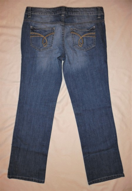 Esprit Lowrise Stretch Boot Cut Jeans-Light Wash Image 3