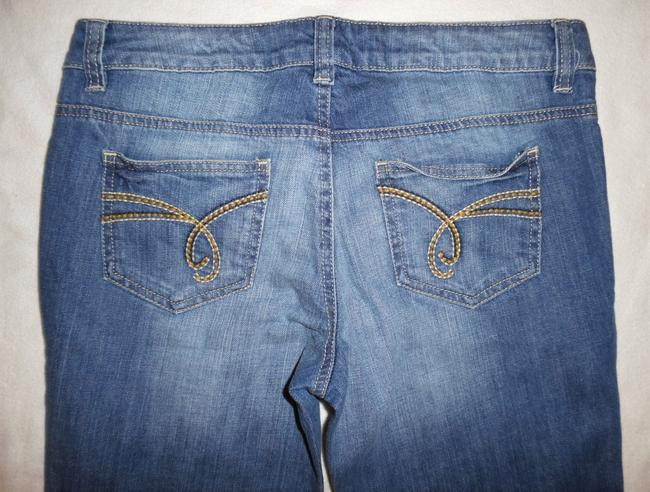 Esprit Lowrise Stretch Boot Cut Jeans-Light Wash Image 4