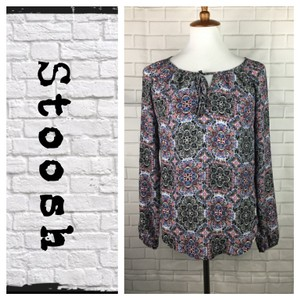 Stoosh Top Black/White/red/Blue