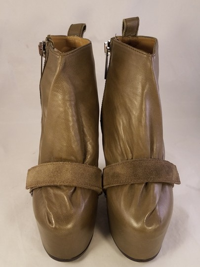 Acne Studios Prada Gucci Louis Vuitton Christian Louboutin taupe brownish Boots Image 2