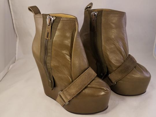 Acne Studios Prada Gucci Louis Vuitton Christian Louboutin taupe brownish Boots Image 8