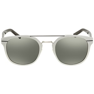 Dior NEW Dior AL 13.5 Matte Silver Mirrored Wired Sunglasses