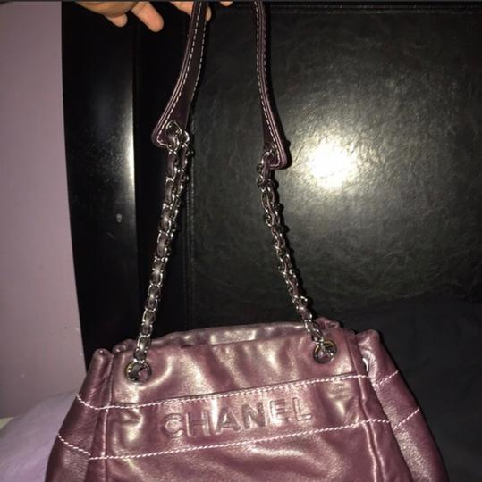 40434c44a024 Chanel Cute and Small Plum Color Shoulder Bag - Tradesy