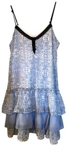 Band of Gypsies Top Light blue and white