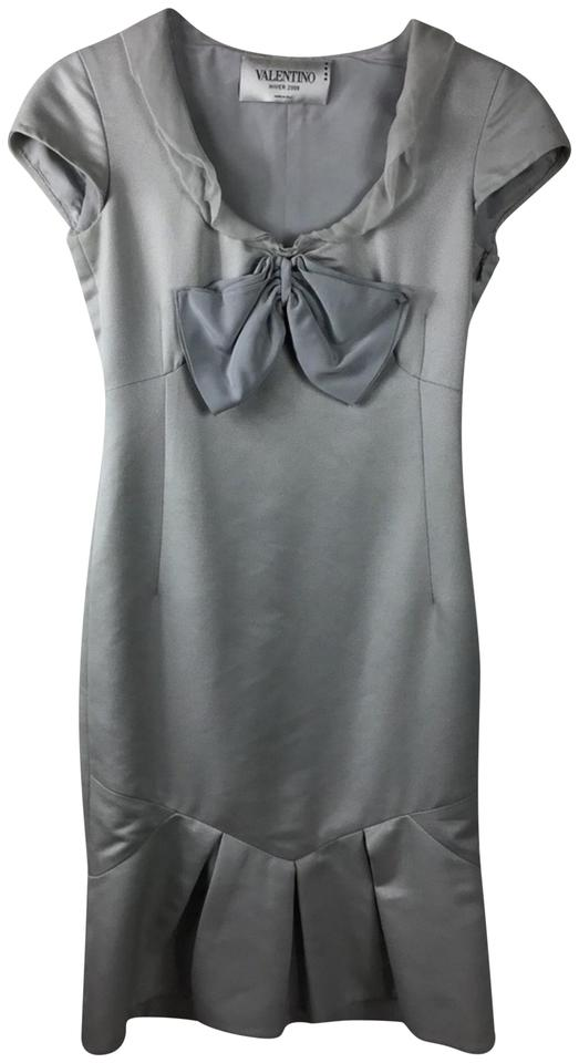 Valentino Work Office 2008 Gray Hiver Dress wawqvTS