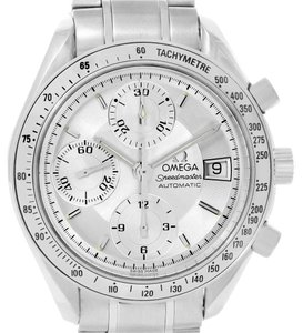 Omega Omega Speedmaster Date Silver Dial Automatic Watch 3513.30.00 Box Card