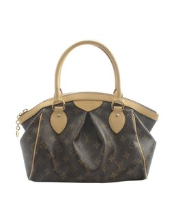 Louis Vuitton x Fragment Coated Canvas Satchel in Brown