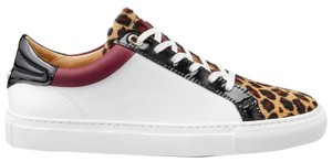Belstaff Sneakers Leopard Black / Red / White Athletic