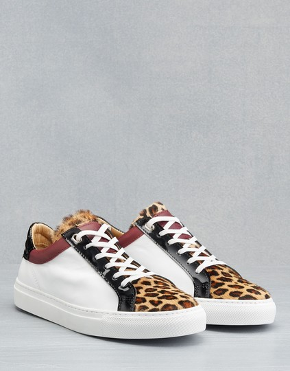 Belstaff Sneakers Leopard Black / Red / White Athletic Image 1