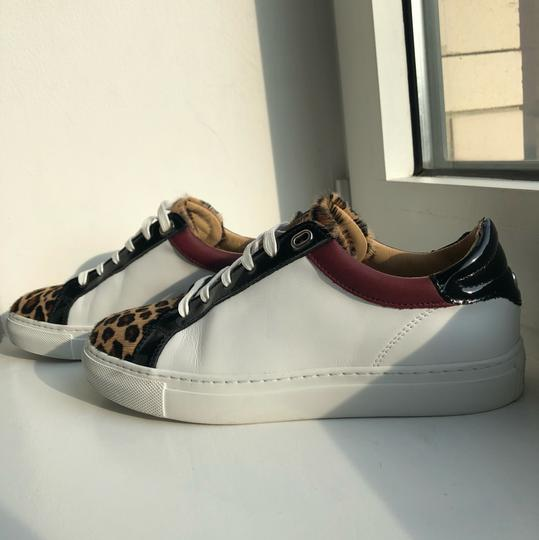 Belstaff Sneakers Leopard Black / Red / White Athletic Image 4