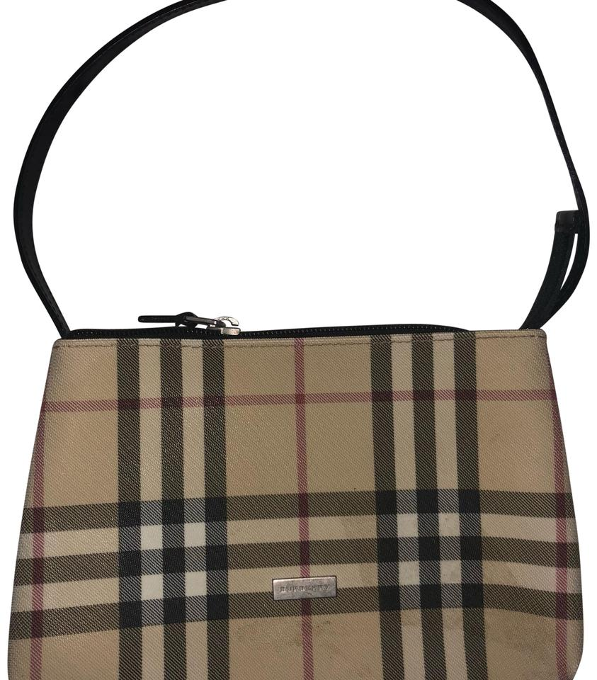 1ecaf69110db Burberry Nova Check Small Multi Beige Leather Coated Canvas Shoulder ...