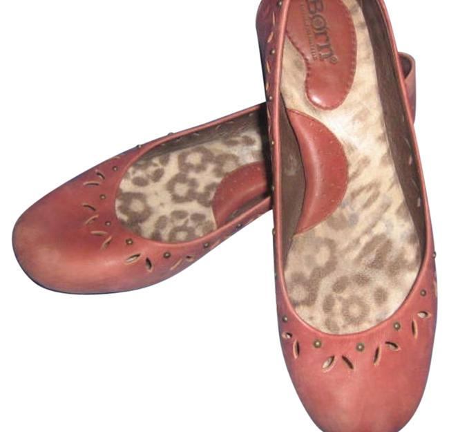 Børn Dusty Rose Comfort Ballet Flats Size US 8.5 Regular (M, B) Børn Dusty Rose Comfort Ballet Flats Size US 8.5 Regular (M, B) Image 1