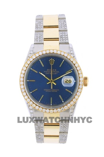 Preload https://img-static.tradesy.com/item/23737007/rolex-free-shipping-42ct-36mm-datejust-gold-ss-with-box-and-appraisal-watch-0-0-540-540.jpg