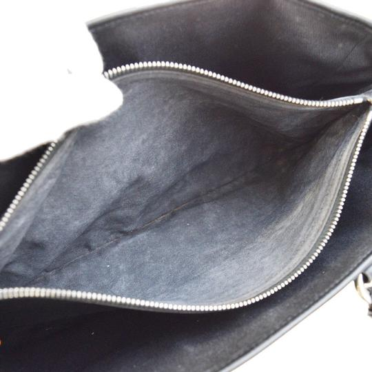 Céline Made In Italy Suede Leather Tote in BLACK Image 8