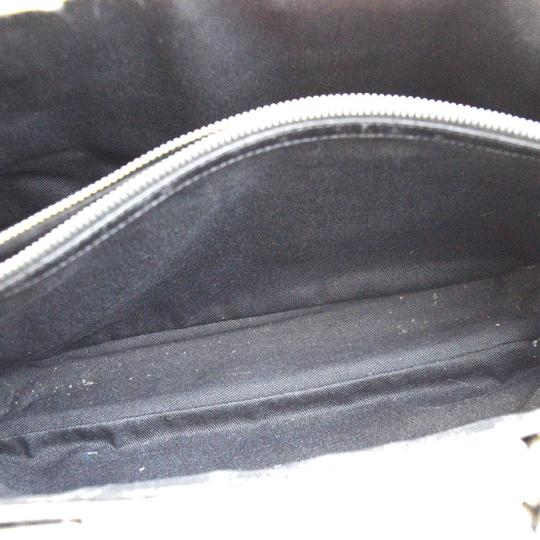 Céline Made In Italy Suede Leather Tote in BLACK Image 9