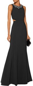 Marchesa Notte Evening Embellished Cut-out Stretchy Dress