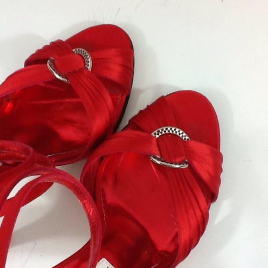 Christian Lacroix Red Sandals Image 6
