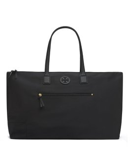 Tory Burch Travel Large Ella Tote in Black