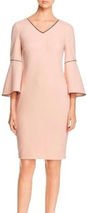 Calvin Klein Contrast Chic Polished Formal Comfortable Dress
